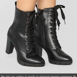Black Boots Size 8.5